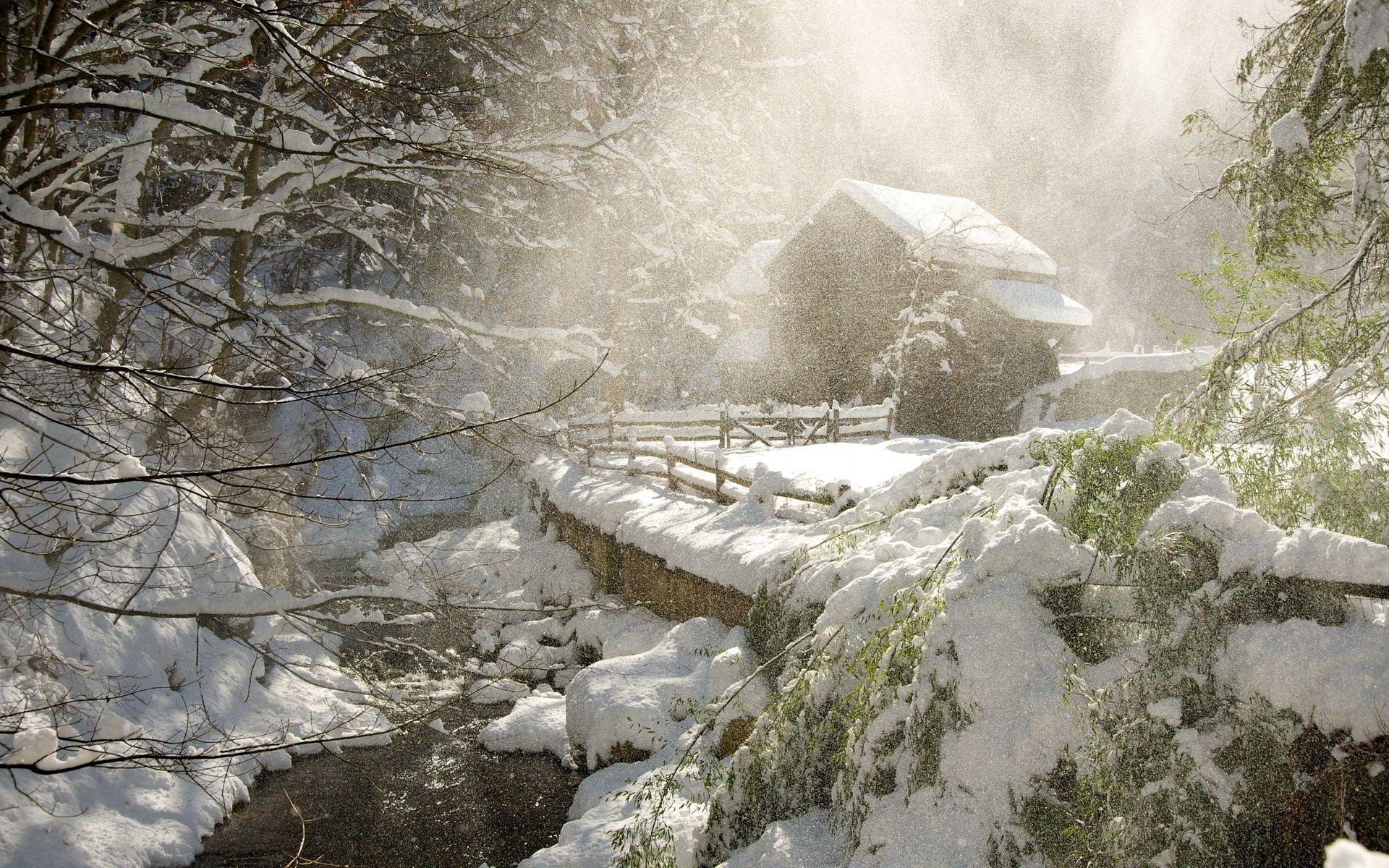 Fonds D Ecran Saison Hiver Neige Nature Image 327381 Telecharger Scene D Hiver Paysage De Neige Fond Ecran Hiver