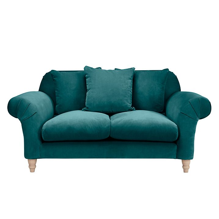 Buy Doodler Small 2 Seater Sofa by Loaf at John Lewis in Real Teal