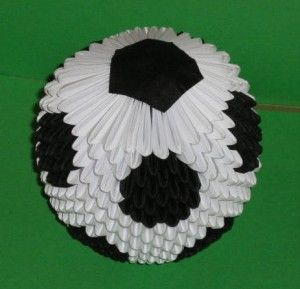 3d origami � soccer ball origami and paper crafts