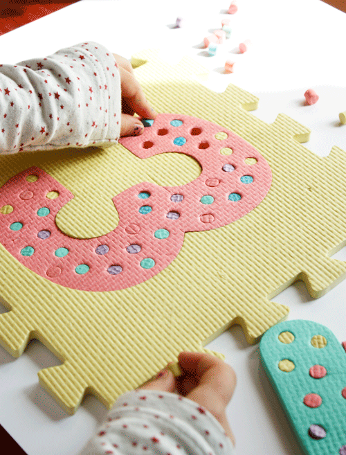 Neat ways to reuse those foam play mats for use by older kids