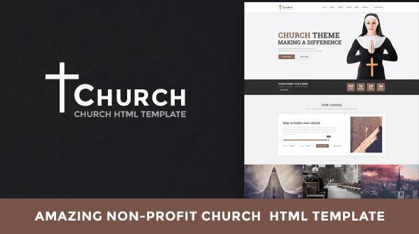 Church - Non-profit HTML Template  Church u2013 Non-profit HTML - profit template
