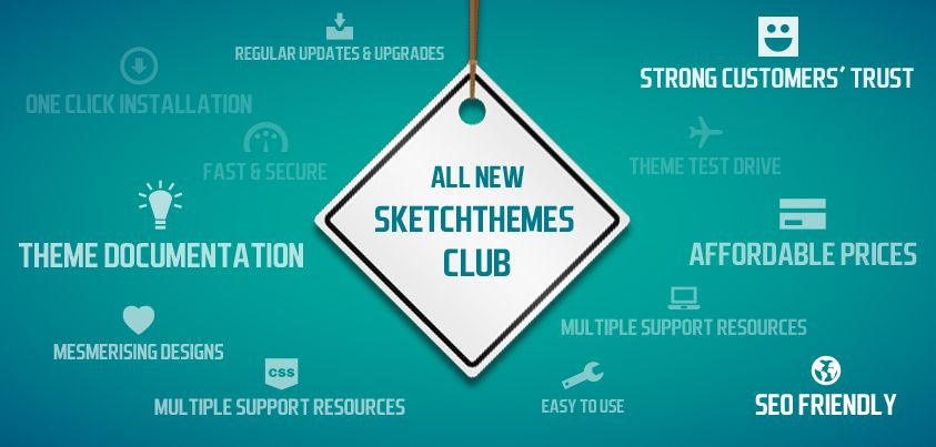 Cheers!!! SketchThemes showers bonanza with its new Club Membership Launch!