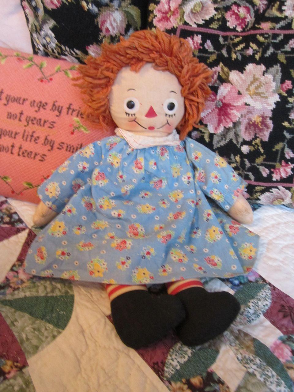 Rare Raggedy Ann Dresses
