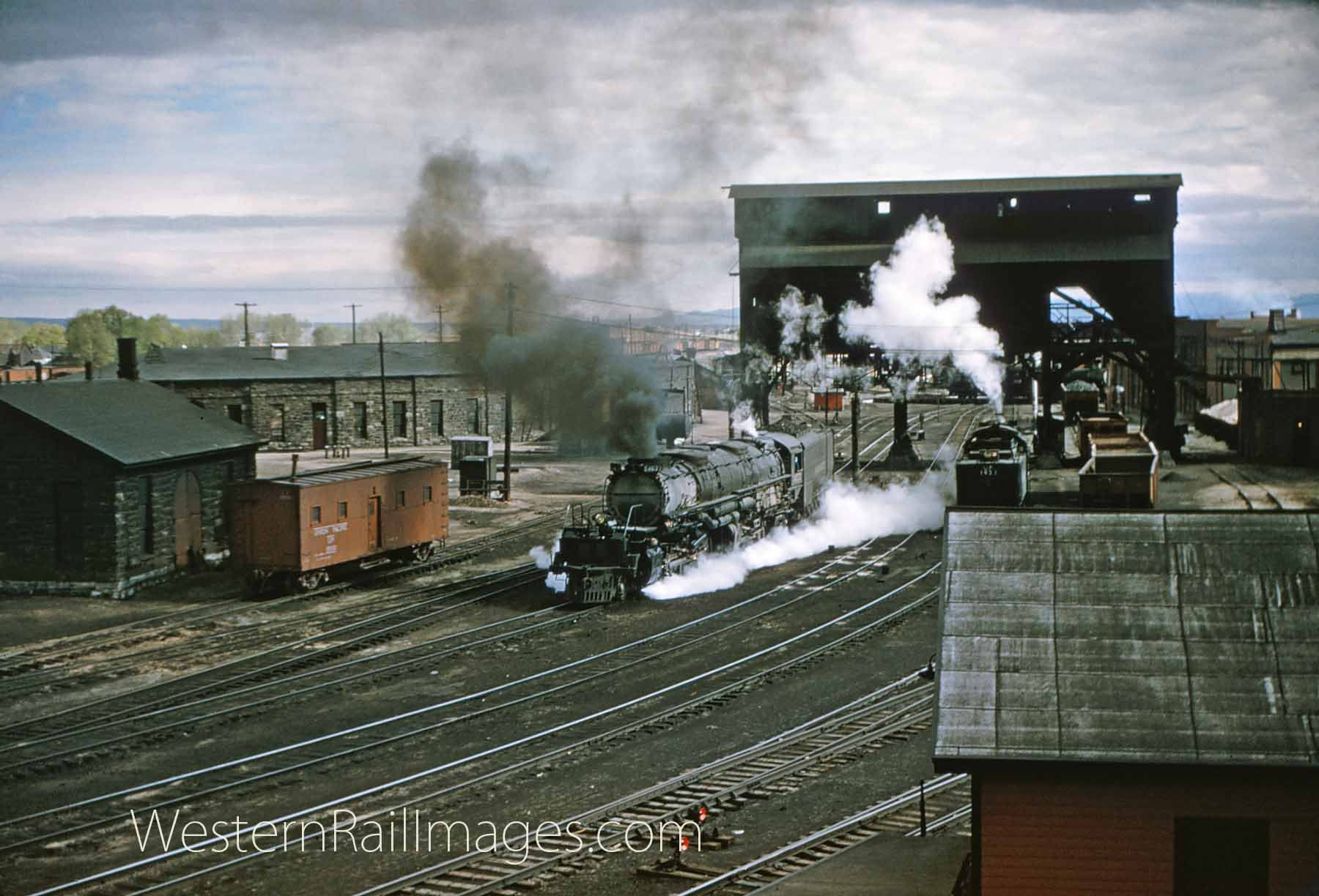 Union Pacific Railroad Big Boy 4022 in Laramie