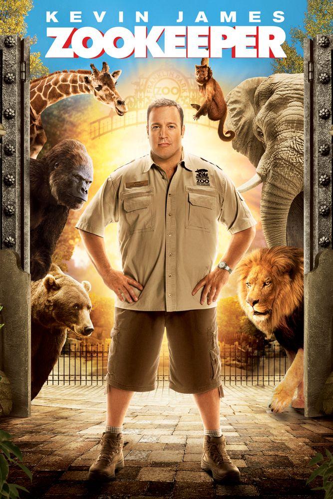 Zookeeper Movie Poster Kevin James, Rosario Dawson
