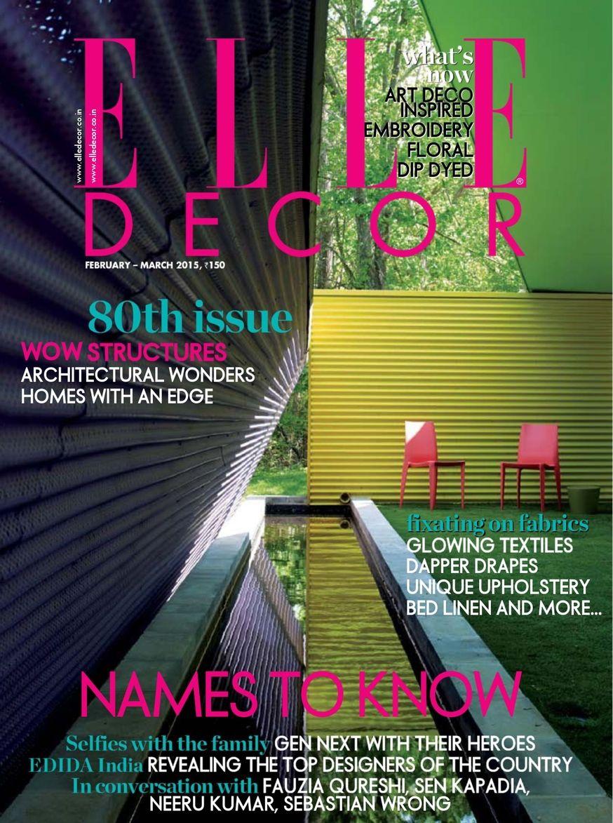 Elle Decor India Magazine Google Search Elle Decor
