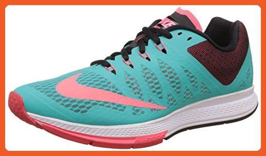 Nike Women's Air Zoom Elite 7 Hyper Jade/Hyper Punch/Black Running Shoe 8.5