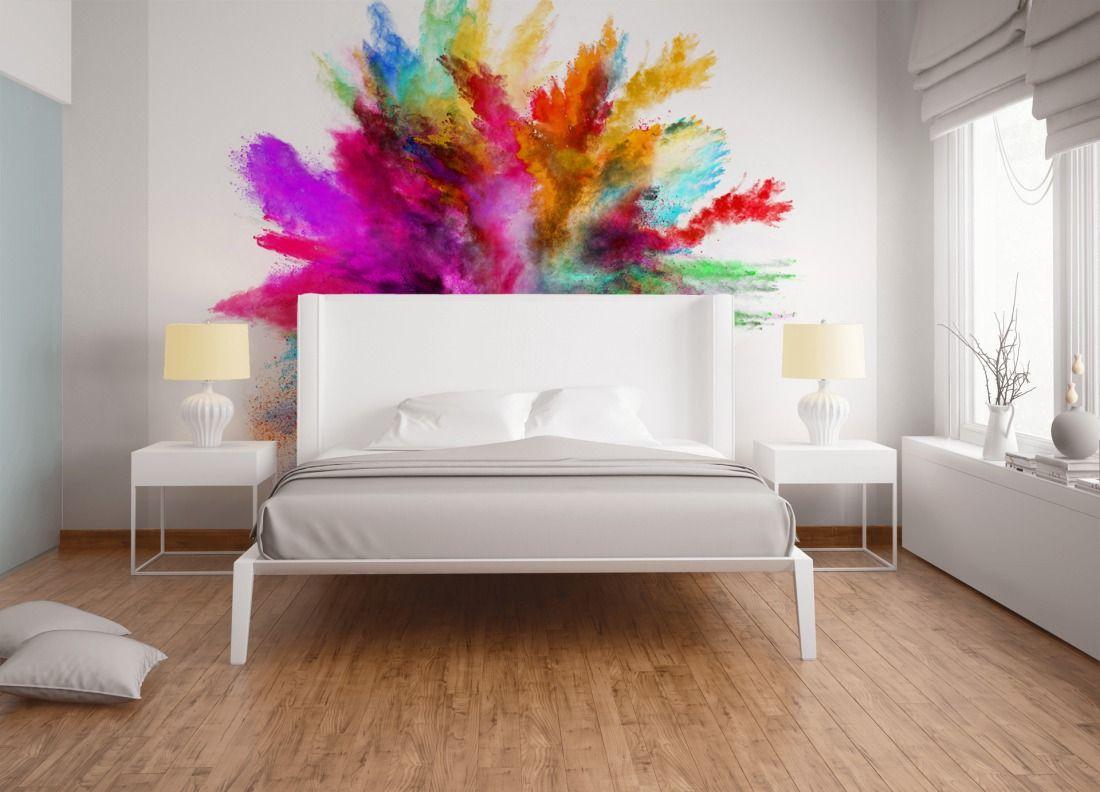 Schlafzimmer Fototapete ~ Tapeten im schlafzimmer fototapete «colour splash dd