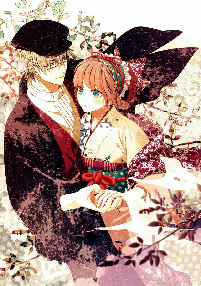 Anime Picture With Amnesia Idea Factory Heroine Kent Hanamura Mai Long Hair Tall Image Short Blonde Brown Green Eyes
