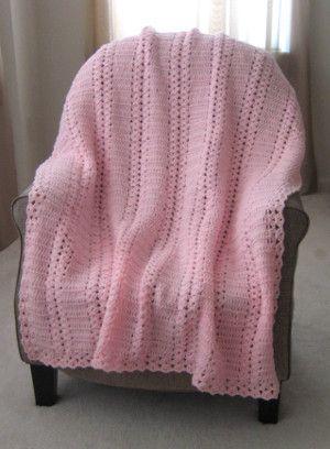 Pink Moscato Double Shell | Decken, Stricken und häkeln und Handarbeiten