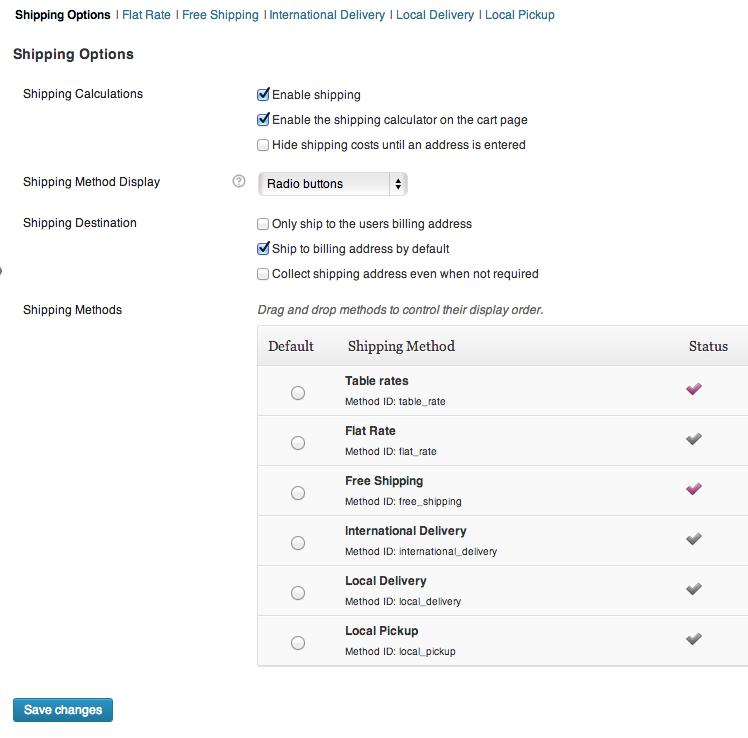 Settings for Australia Web Design with