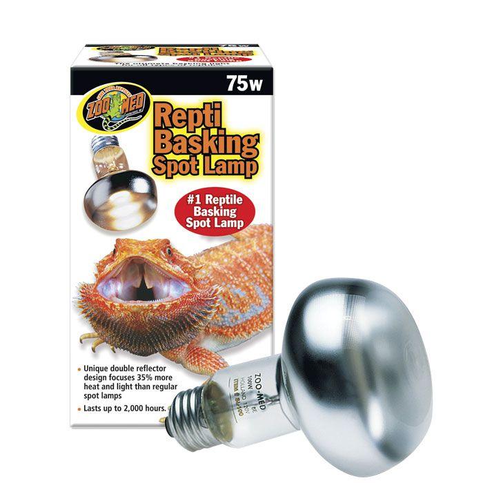 Zoo Med Repti Basking Spot Lamp 75w Zoo Med Spots Med