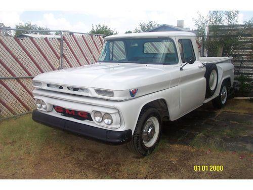 Used Trucks Tucson >> 1962 Gmc Stepside Tucson Az Usedcars Classic Cars