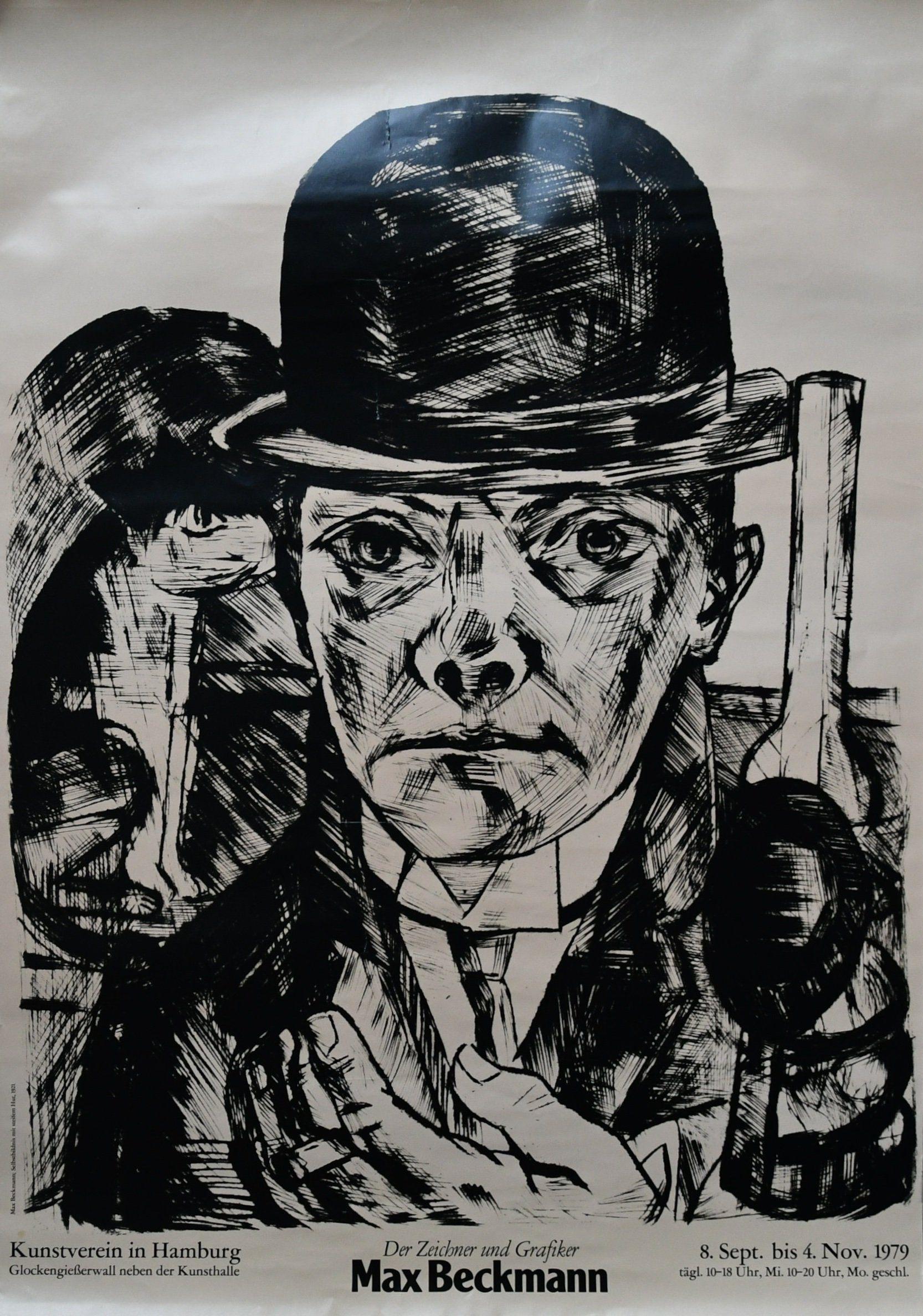 1915 Self-Portrait as a Nurse - Max Beckmann, Verismo