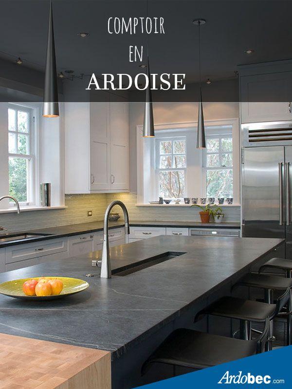 id e de comptoir en ardoise d coration pour ardoise r novatiion de cuisine michele. Black Bedroom Furniture Sets. Home Design Ideas