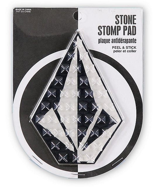 ea371560037a A rubber 3M adhesive backing easily sticks to your board to provide added  traction for the chairs plus a Volcom Stone logo for style.