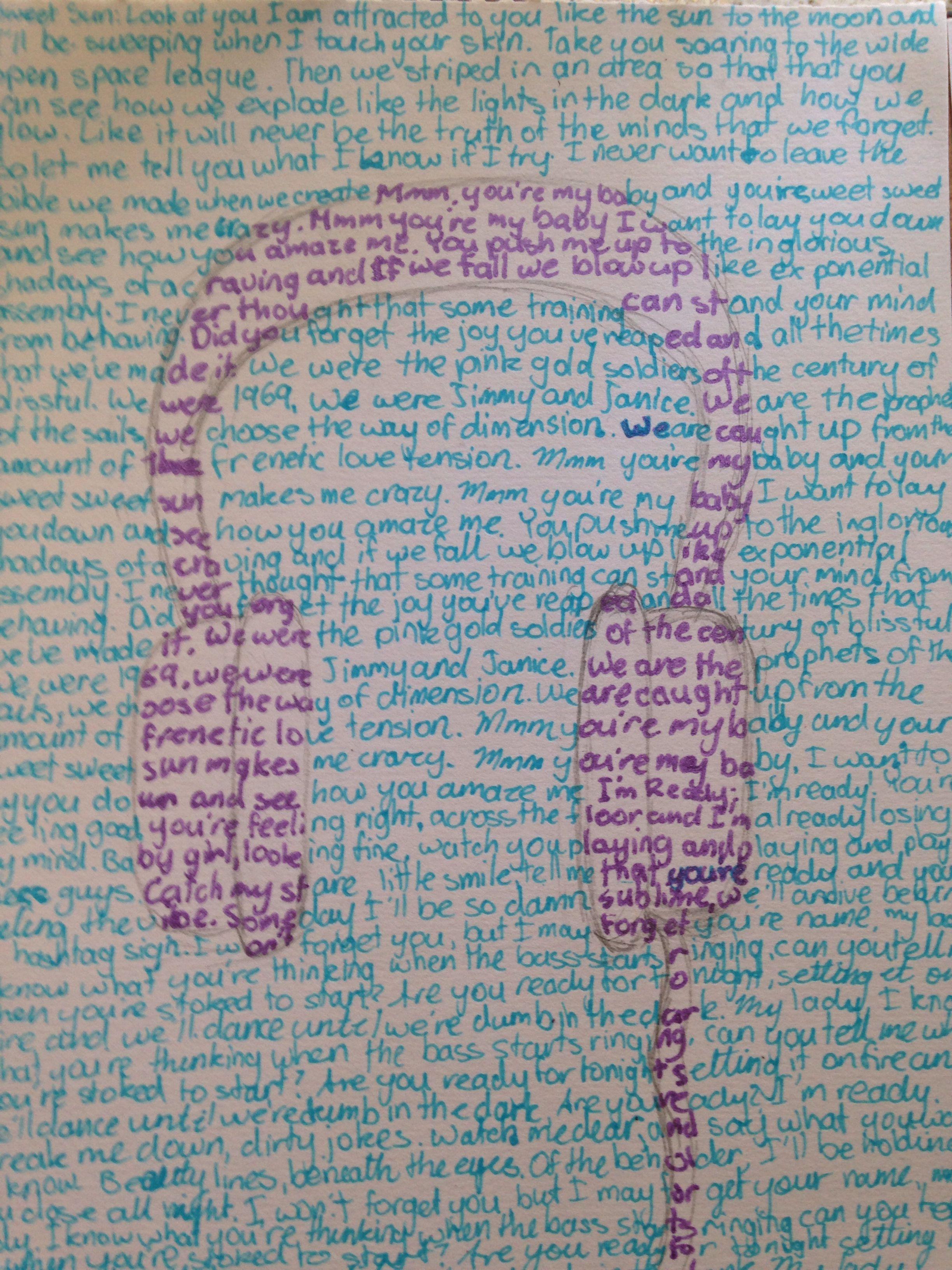 Lyric headphones
