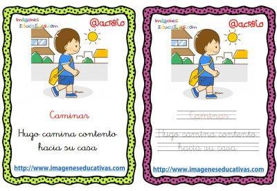 Lectoescritura verbos de acción (6)