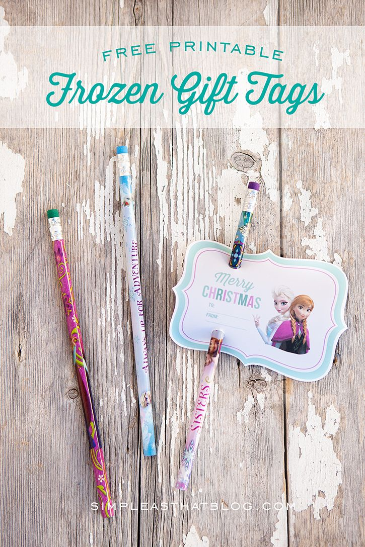 Free Printable Disney Frozen Gift Tags | Best of Pinterest ...