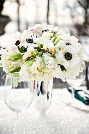 Brides of adelaide magazine anemone wedding style centrepiece brides of adelaide magazine anemone wedding style centrepiece bouquet junglespirit Images