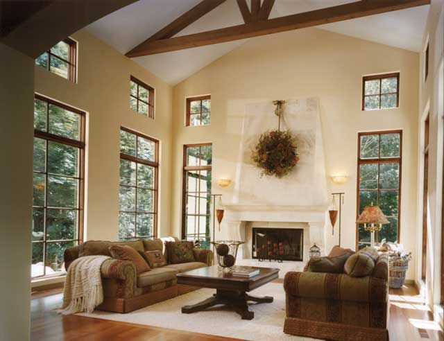 Beautiful Great Room  perfect for a home set in a treed lot or where thereBeautiful Great Room  perfect for a home set in a treed lot or  . Great Room With Fireplace. Home Design Ideas