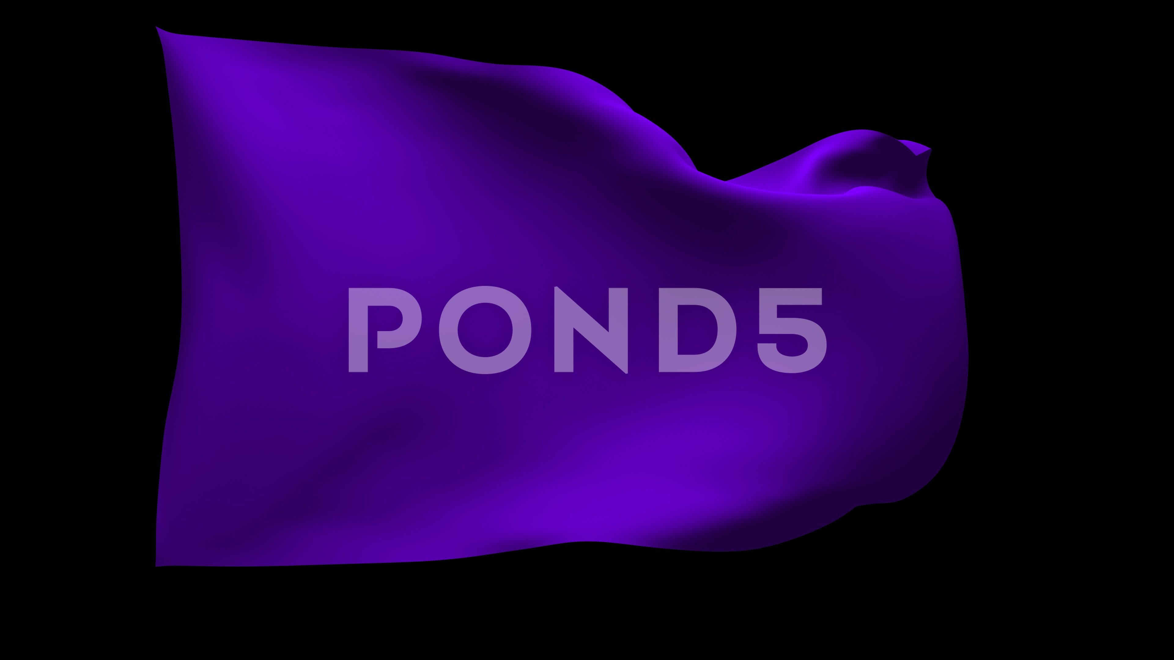 4k Uhd Waving Purple Flag With Alpha Channel Stock Footage Purple Flag Uhd Waving Alpha Channel Purple Alpha