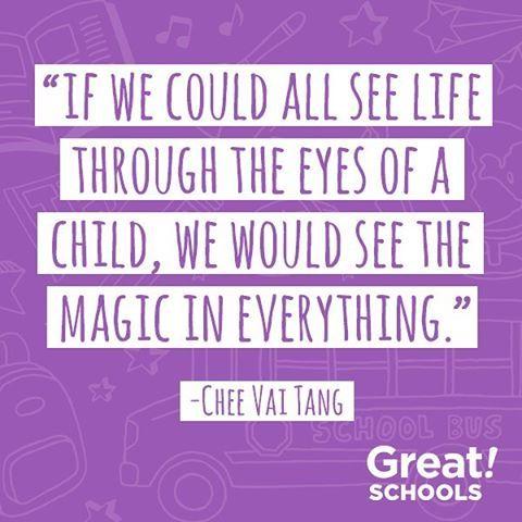 How quickly we forget. #GreatSchools #GreatKids ...