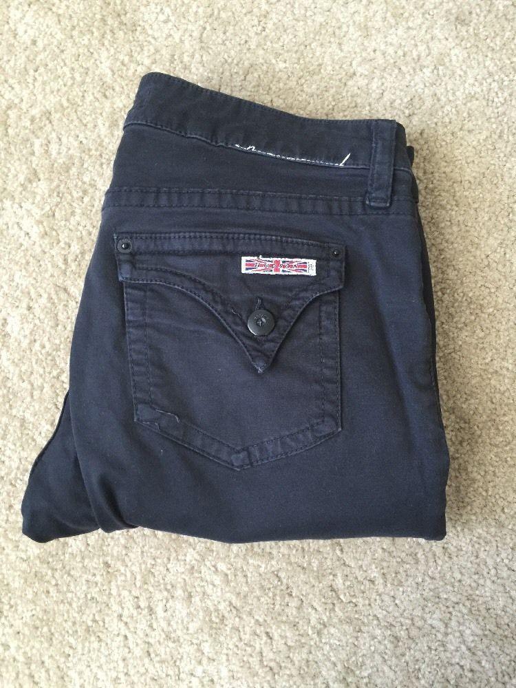 Hudson Black Flare Jeans Women's Sz 29 | eBay
