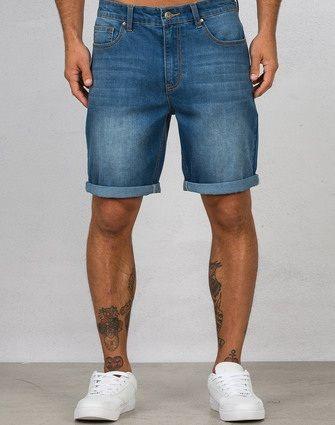 mens denim shorts nz