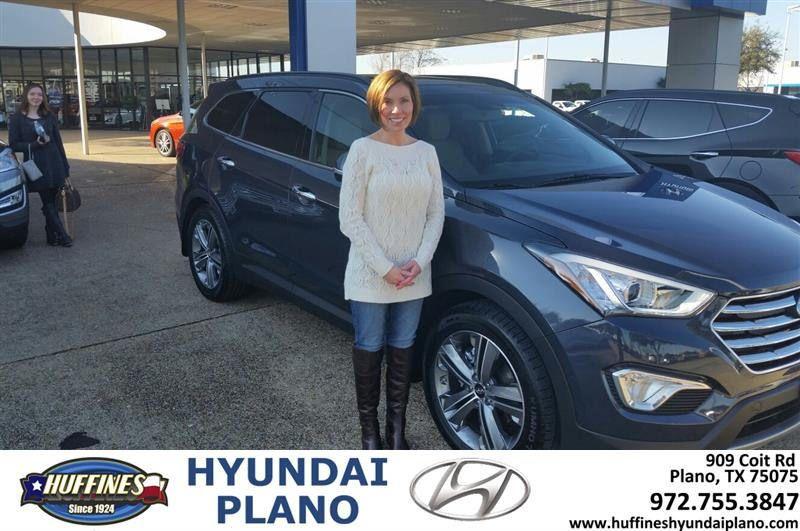 Happy Anniversary to Nicole on your Hyundai Santa Fe