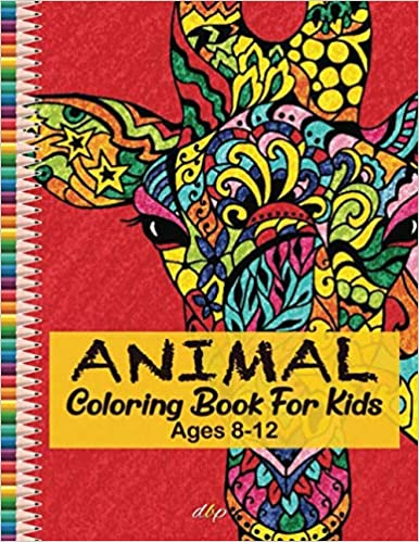 Animal Coloring Book For Kids Ages 8 12 Animal Coloring Book For Kids Ages 8 12 Coloring Pages Wi In 2020 Animal Coloring Books Coloring Books Mandala Coloring Books