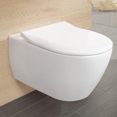 Villeroy \ Boch Subway 20 WC-Sitz Slimseat mit Quick Release und - villeroy und boch armaturen küche