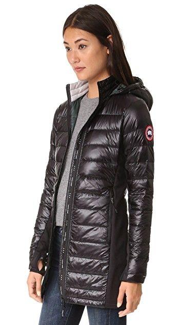 Canada Goose Hybridge Lite Long Coat In 2020 Canada Goose Women Long Coat Long Quilted Coat