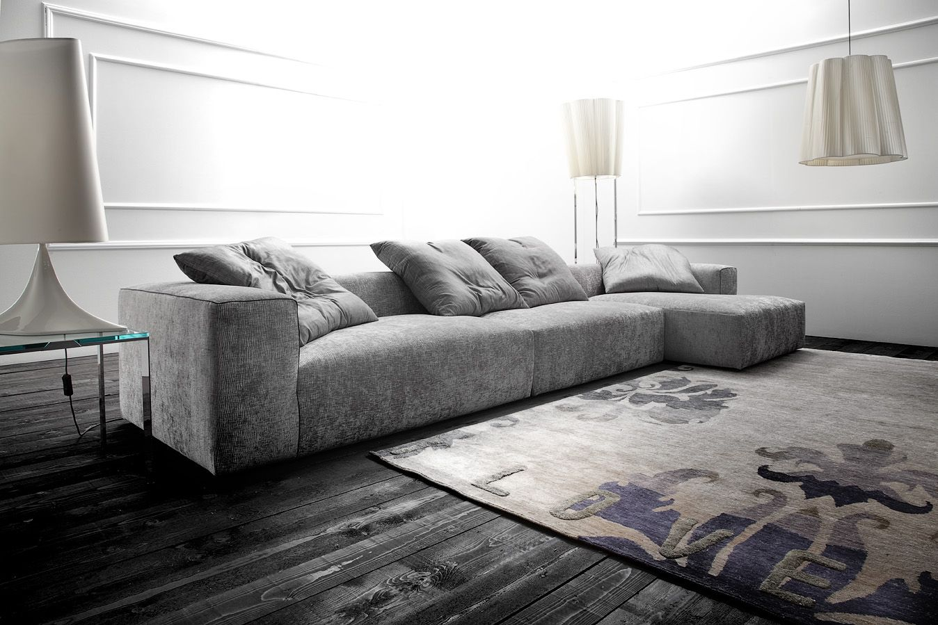 Dylan 02 Sofa or Sectional, Contemporary Living Room Design at Cassoni.com