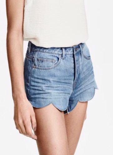 short h\u0026m été 2016 | shorts. | Fashion,
