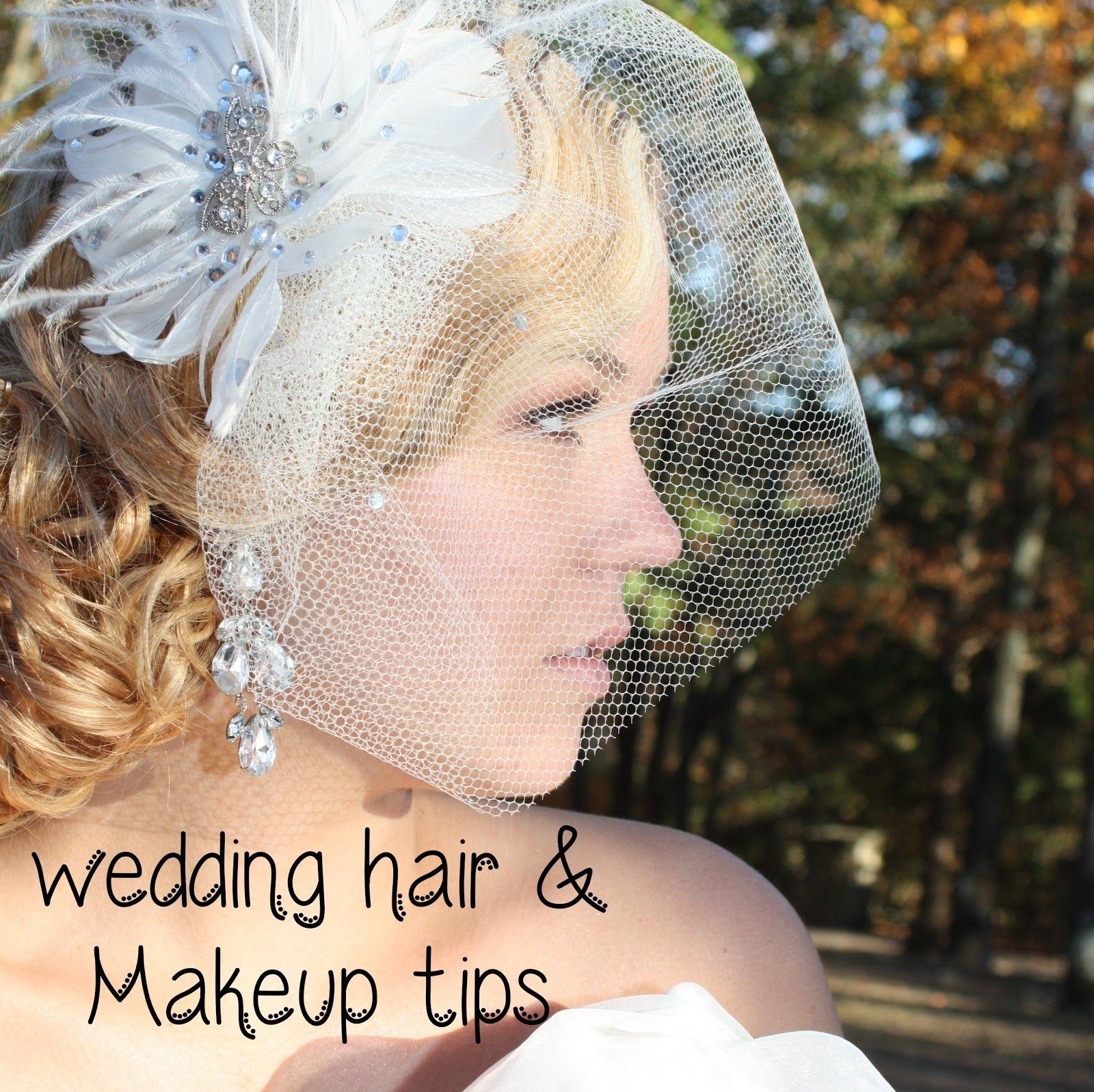 Bridal Hair & Makeup Tips: STEP BY STEP