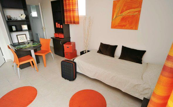 Park&Suites Confort Thonon Les Bains** - Chambre Simple #thonon #hotel #apparthotel #appartement #chambre http://www.parkandsuites.com/fr/apparthotel-thonon-les-bains