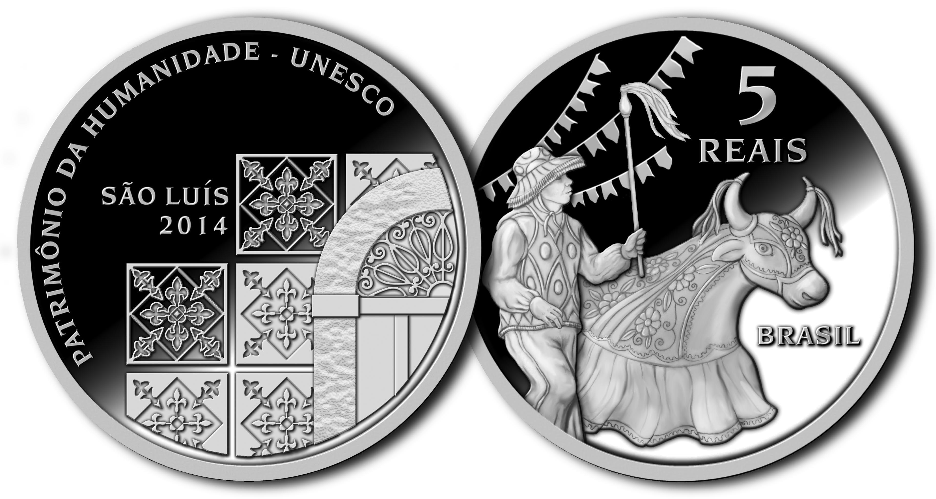 Moeda Comemorativa De Sao Luis Patrimonio Da Humanidade Unesco