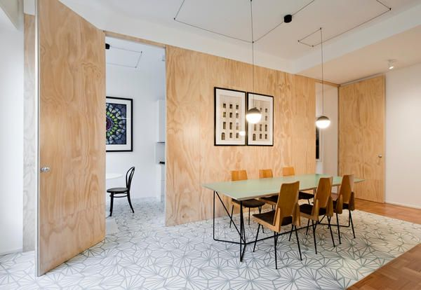A vintage style in a modern project in milan stile vintage in un
