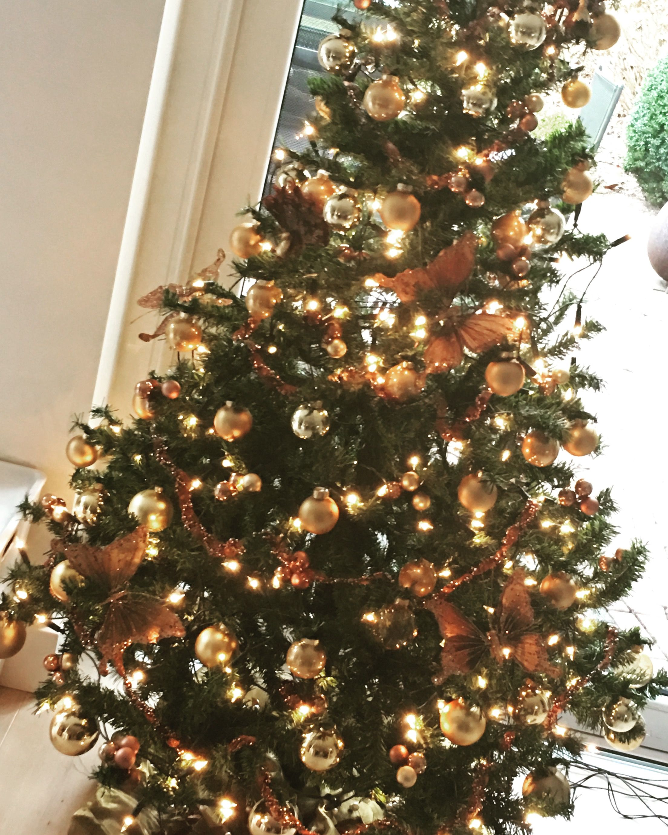 Kerst, takken, ballen, laat kerstmis maar komen. Met dank aan Pinterest eigen creatie #tevreden