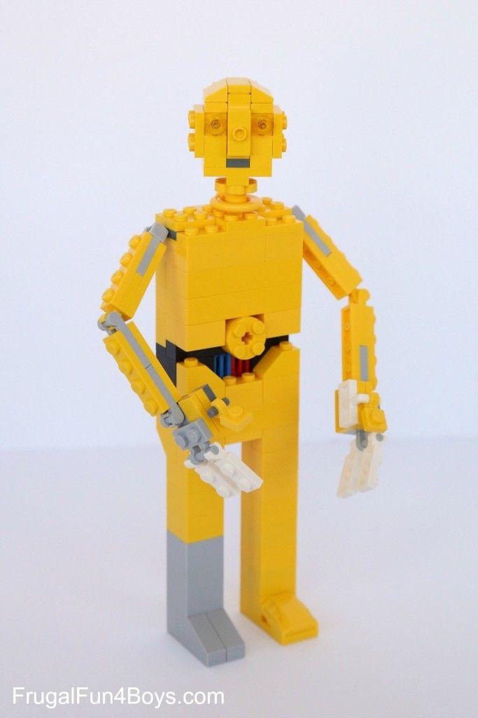 Lego Star Wars C3po Building Instructions Pinterest Lego Star