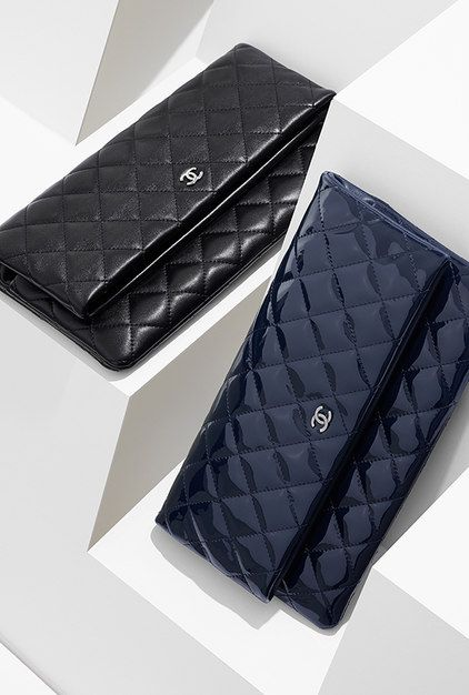 622312663d8e Large lambskin folded pouch - CHANEL- I am saving up for this now ...