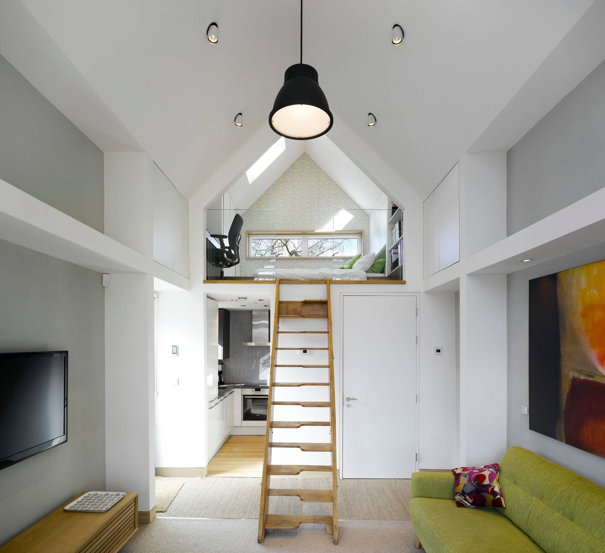Vaulted Bedroom Ceiling Lighting Ideas Tiny House Design