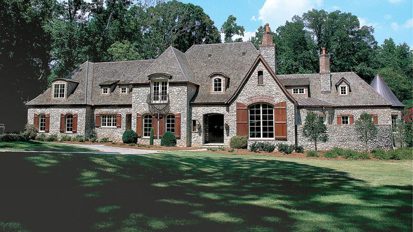 Chateau Home Plans - Chateau Style Home Designs from ...