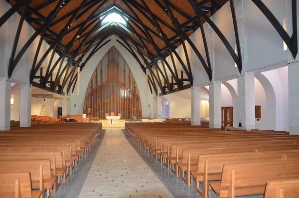 Our Lady Queen Of Peace Catholic Church Newport Beach Ca Constructed 2017