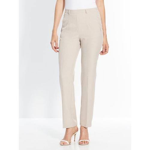 #Pantaloni modellanti donna. se sei alta Beigeblugrigionero  ad Euro 52.95 in #Charmance #La redoute donna abbigliamento