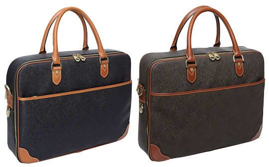 5a6905fc59 Mulberry Leather Laptop Bag in Mole or Black   Brown This Mulberry Laptop  Bag is made