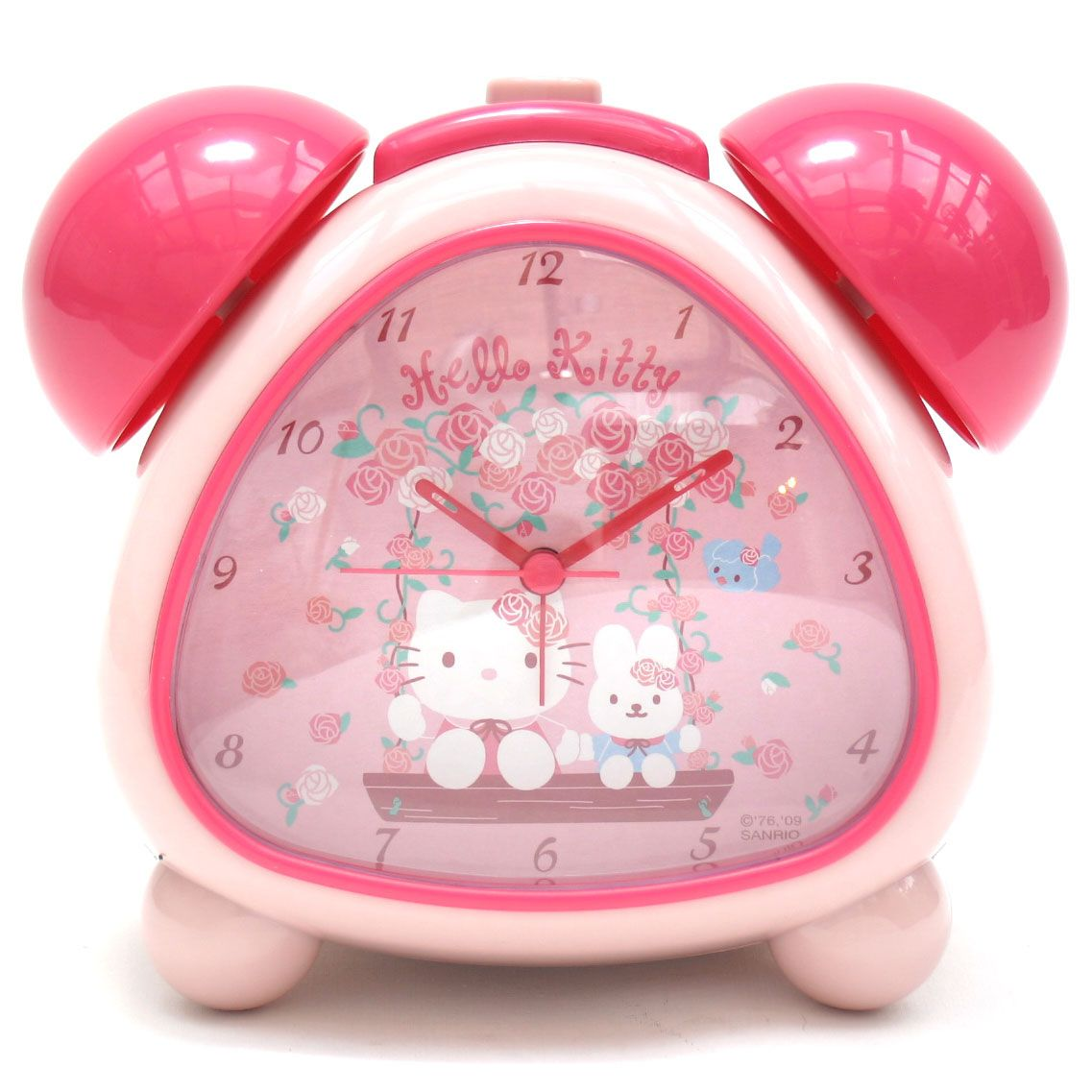 42c084970 Hello Kitty Alarm Clock - Swing Kitty #hellokitty #hellokittyuk #kawaii  #dizzypink #hellokittycollection #hellokittyaddict #hellokittystuff #clock  ...