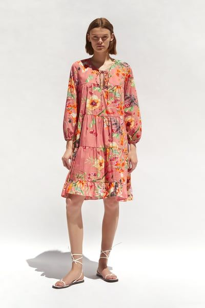 41e5b6e6 Floral print dress in 2019 | Products | Dresses, Floral ...