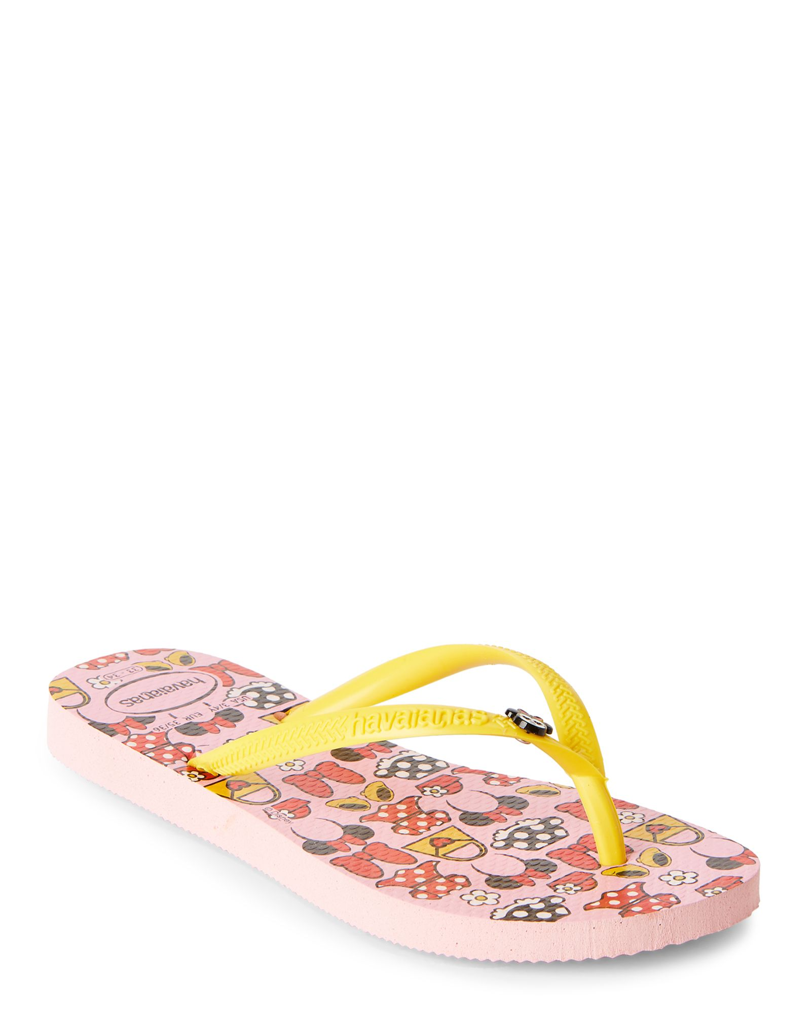 d9aa3acd7 Havaianas (Toddler Kids Girls) Slim Disney Cool Flip Flops ...